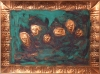 POSTDORIANGRAYISM ACIDS PAINTED ON COPPER REPOUSSE
