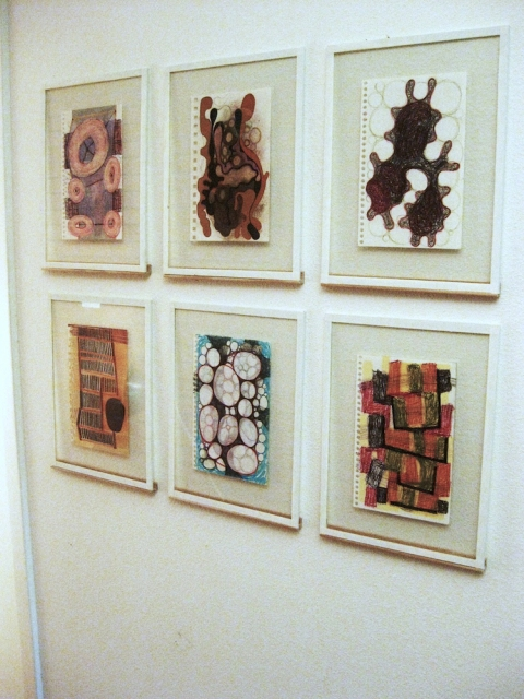 Book Pages, Installation View