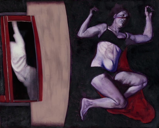 BRANDON CAMPOS EARLY PAINTINGS  Oil on linen