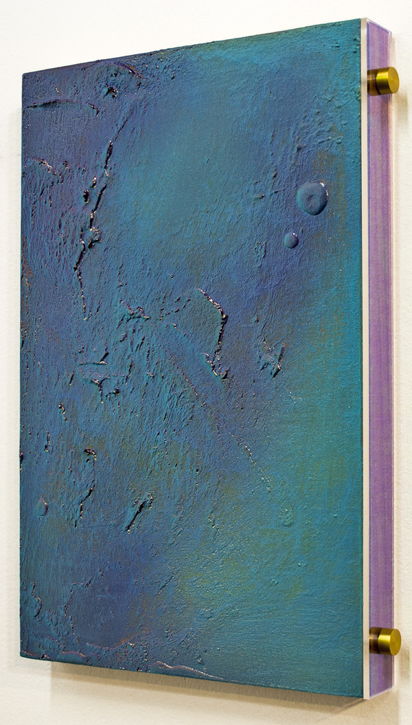 Brandon Shimmel Leisure Destinations, 2014-16 Acrylic, Acrylic Sheet, Aluminum, on Walnut Panel
