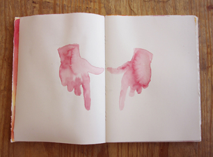 Brian Hitselberger Books Ink on rag paper