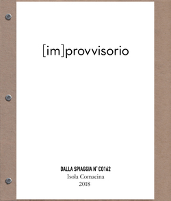 Paul Bright [im]provvisorio (2018) digital photographic prints on paper, assembled as a book