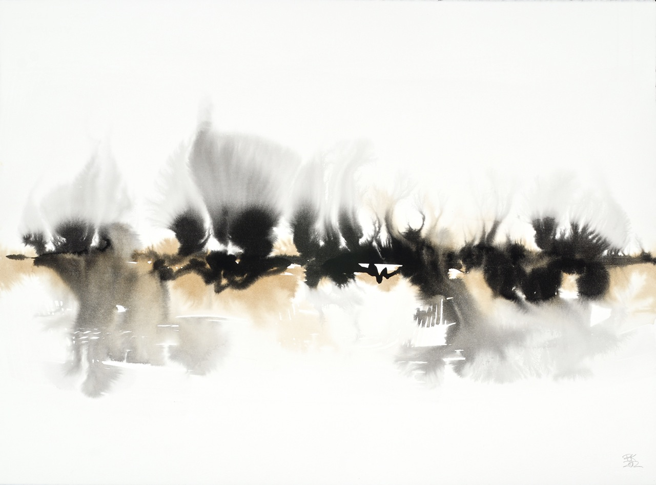 BRITTA KATHMEYER Ink, 2011-13 Ink and Coffee on Paper