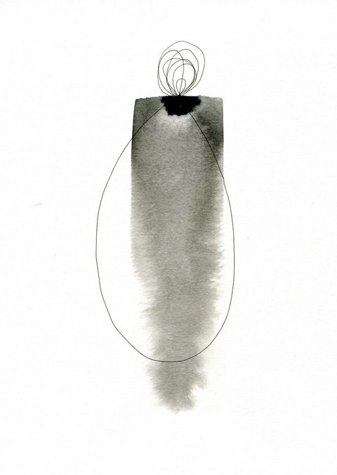 BRITTA KATHMEYER Ink, 2011-13 Ink on Paper