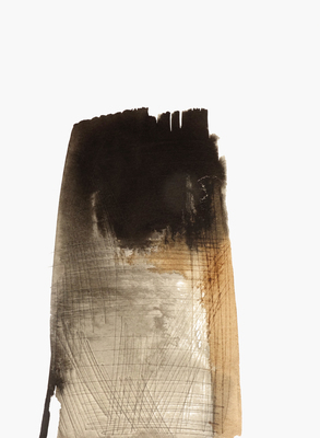 BRITTA KATHMEYER Groundswell, 2016-17 Sumi and Walnut Ink on paper