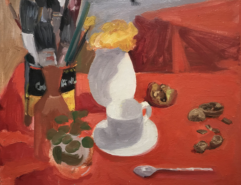 BRUCE LIEBERMAN Red Still lifes 1990's