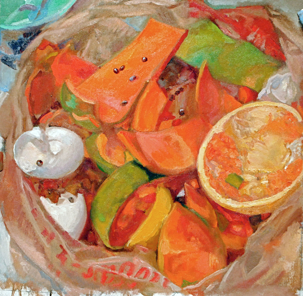 NATURE MORTE and not so morte Papaya Compost