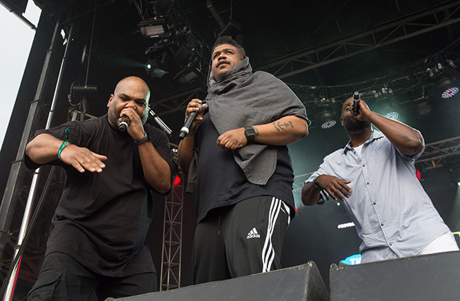 Music De La Soul perform at the Governors Ball Music Festival
