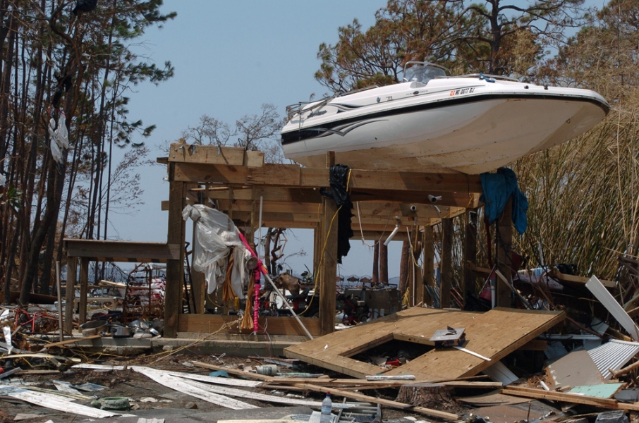 Natural Disasters  Aftermath Of Hurricane Katrina - Pass Christian, Mississippi
