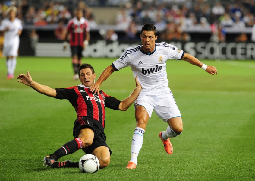 Sports Real Madrid vs. A.C. Milan