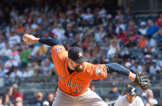 Houston Astros' reliever Pat Neshek