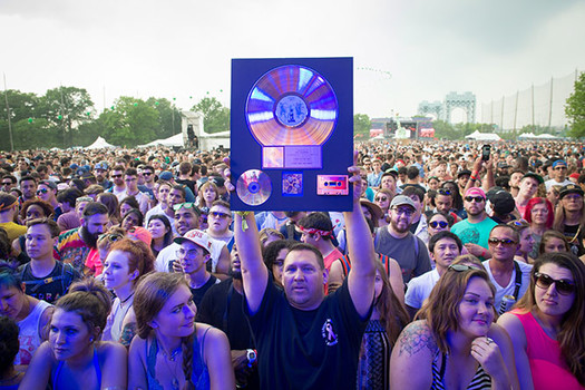 De La Soul fans at the Governors Ball Music Festival