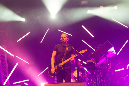 M83 perform at the Governors Ball Music Festival