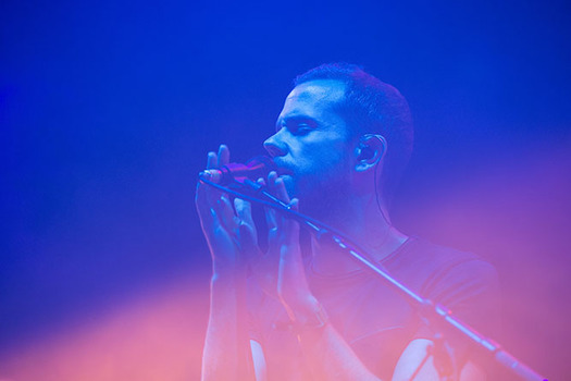 M83 performs at The Governors Ball Music Festival