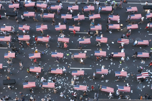 2004 RNC Protest - Coffins Representing Those Killed In Iraq