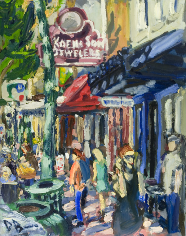 Austin Paintings oil on canvas