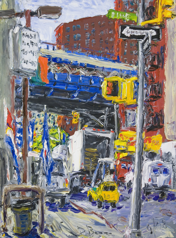 New York oil on canvas