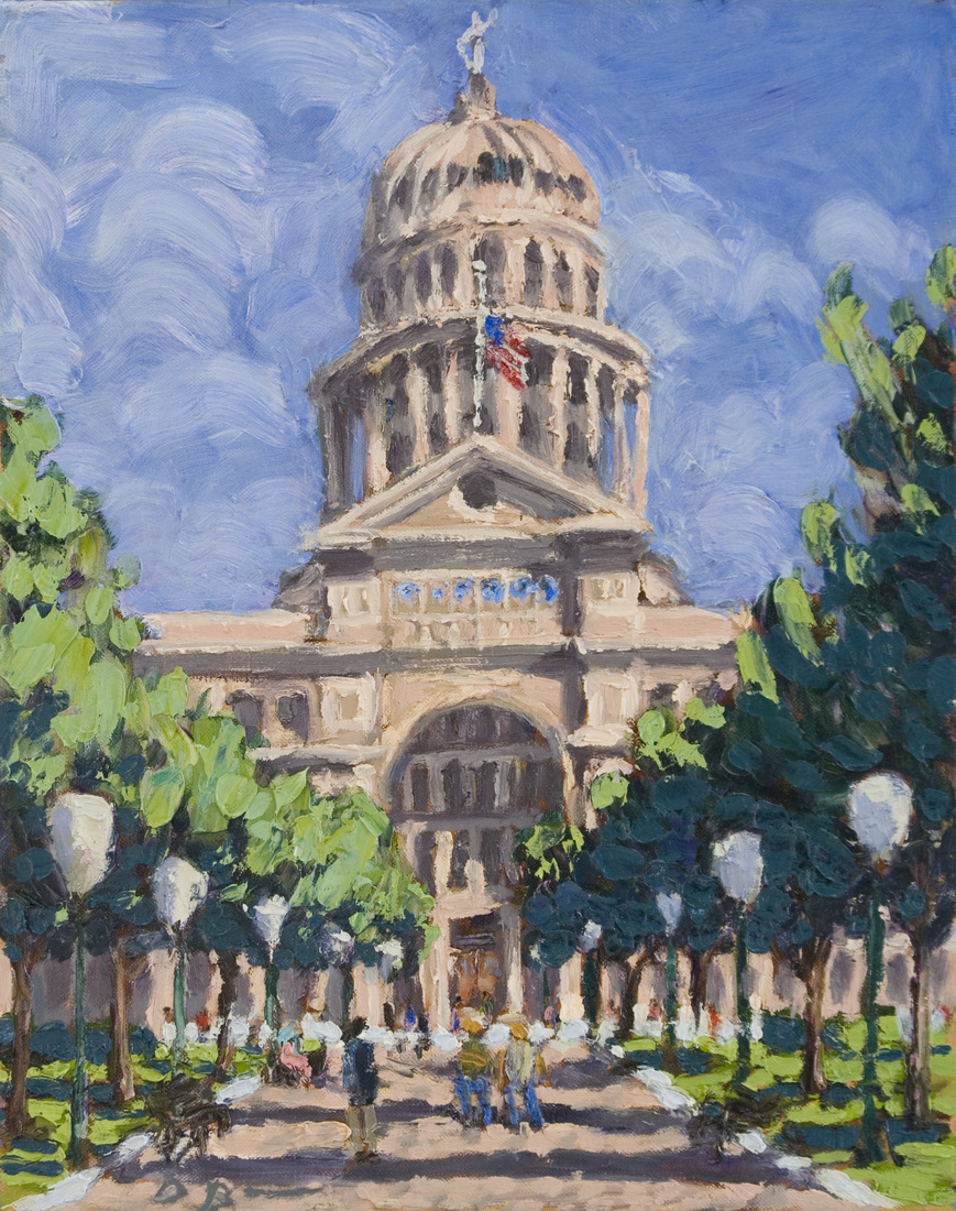 Austin Paintings Texas State Capitol