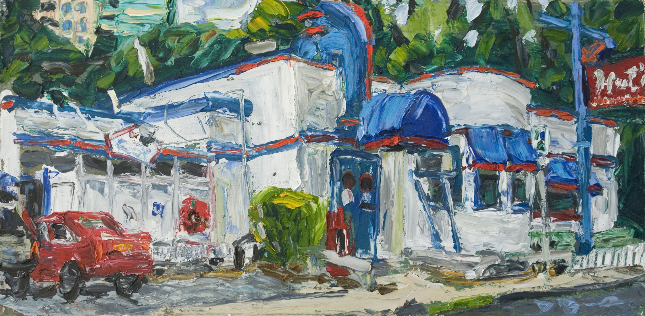 Austin Paintings Huts Hamburgers