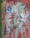 Tribeca Series Oil, Oil Stick, Marker on Canvas