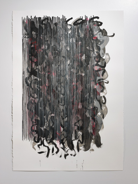 Cair Crawford 'SKIRTS 2014 Acrylic/paper