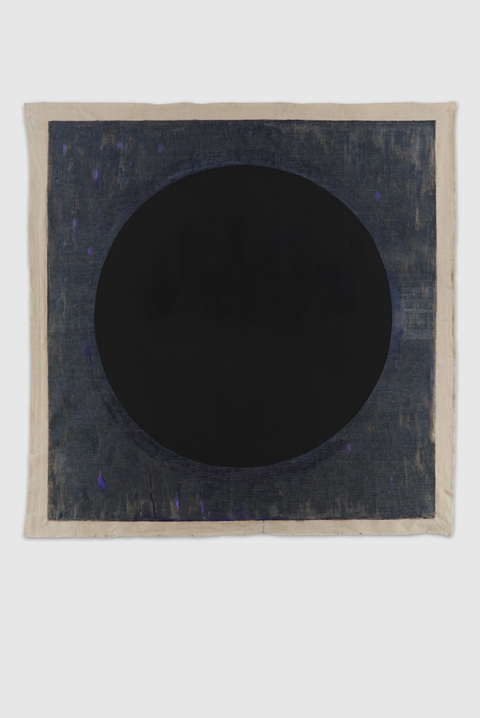 Cair Crawford BLACK HOLES  2015-16 Acrylic/Unstretched Linen