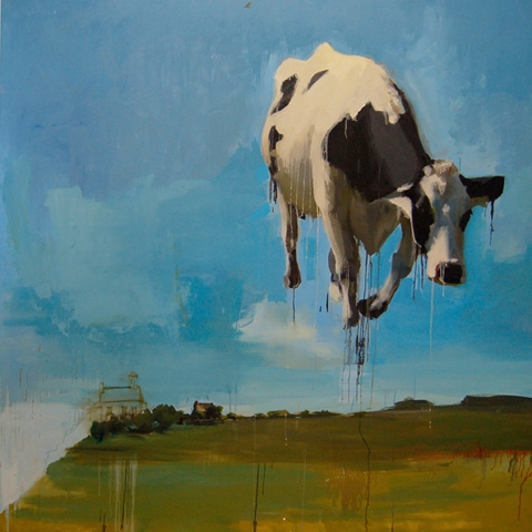 CAITLIN HURD Paintings  oil on canvas