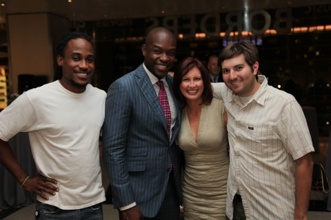 """the art of inspiration"" Camilla with Tre, Siafa and Evan of LXTV"