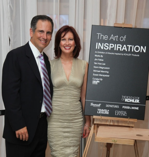 """the art of inspiration"" Christopher and Camilla Cook"