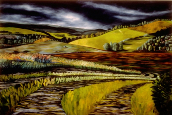 Cari Rosmarin archive-large landscapes oil/canvas large