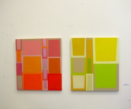 CARLA AURICH Projects and Installations oil on panel