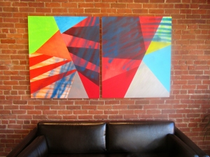 CARLA AURICH Projects and Installations Oil on Canvas