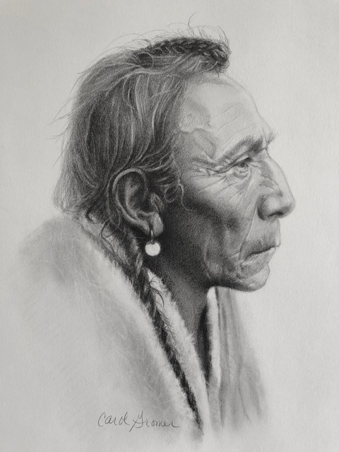 Carol Gromer Fine Art Portraiture Graphite on Paper