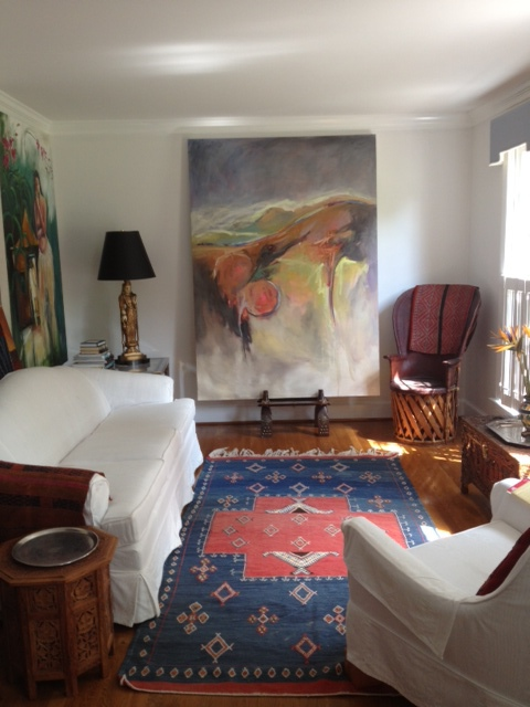 Carol Anna Meese 2014-2015 Large Paintings In home