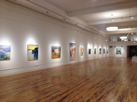 Carol Anna Meese 2014-2015 Large Paintings solo show