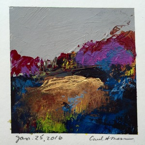 Carol Anna Meese Small Paintings acrylic on paper