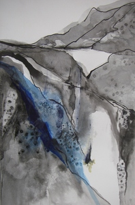 Carol Anna Meese Earth Series ink on paper