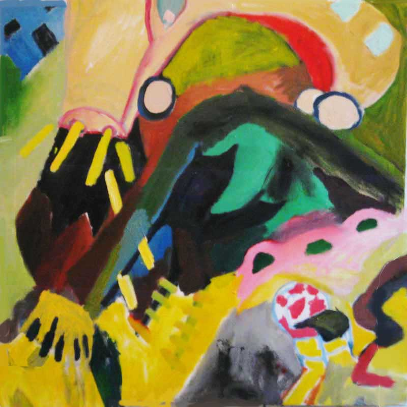 Oil Paintings Car Amok