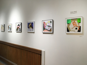 Carol Radsprecher Exhibition Installation Photos Inkjet prints drawn in Photoshop