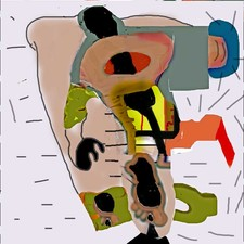Carol Radsprecher Prints drawn and colored in Photoshop  Inkjet print drawn in Photoshop, limited edition of 20
