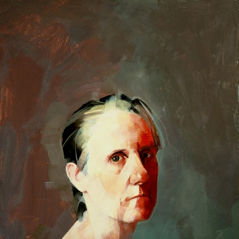 CATHERINE KEHOE HEADS oil on panel