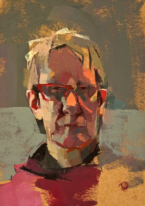 PORTRAIT/FIGURE SP with red glasses