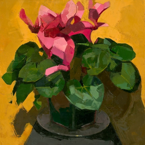 CATHERINE KEHOE STILL LIFE oil on panel