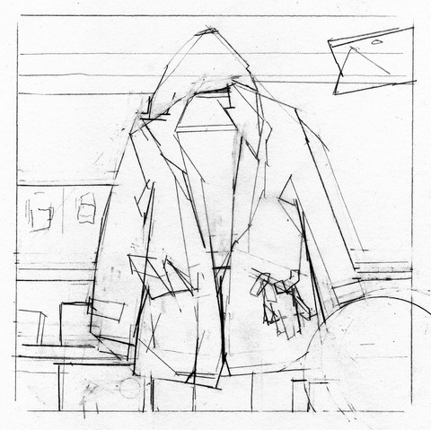 WORKS ON PAPER Parka 1