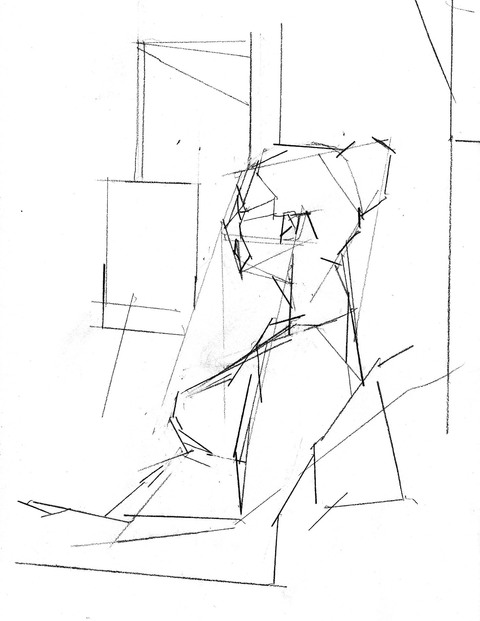 WORKS ON PAPER Figure, Civita