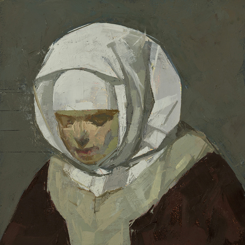 CATHERINE KEHOE AFTER oil on panel