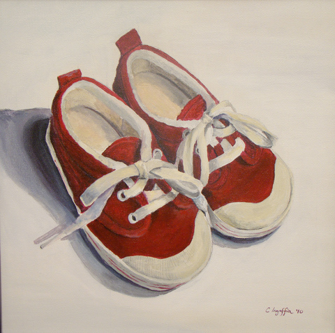 shoe portrait
