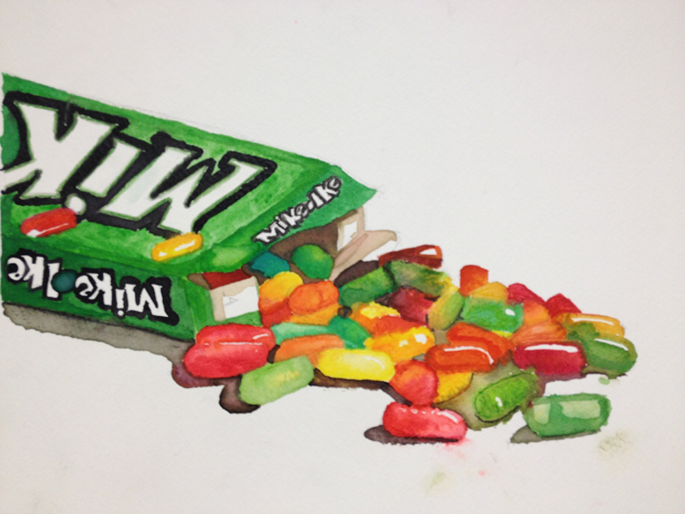 high school student work mike 'n ikes