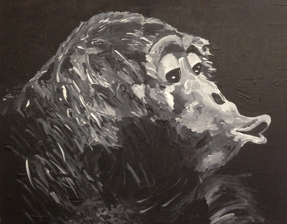 high school student work orangutan