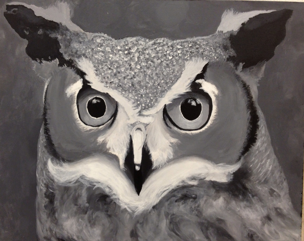 high school student work owl